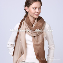 Comfortable pretty women lady art digital custom unique printing wool scarf