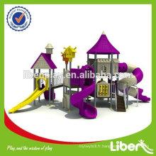 Équipement d'aire de jeux extérieure pour enfants d'âge préscolaire