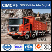 Marca famosa C & C Dump Truck 8X4 para las ventas