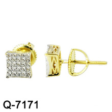 925 Sterling Silber Schmuck mit zwei Zange vergoldet