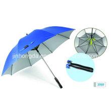 Fiberglass Rib with Fan System Straight Umbrella (YSC0002)