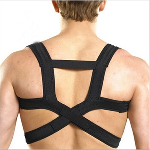 Support back pain inversion table heat belt