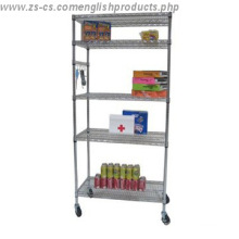 DIY Epoxy Home Metal Wire Rack Shelf/Shelving Unit (CJ7535180A6EW)