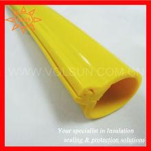 Cubierta de conductor aéreo de caucho de silicio