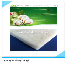 100% reiner Baumwollfilz, 100% Polyesterfaserwatte