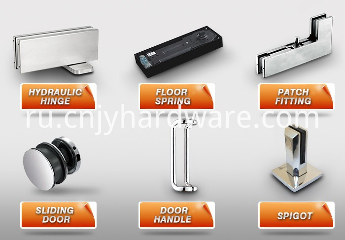 5.Clearance Price Floor Spring Hinge Parts