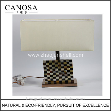 Good Quality for Mother of Pearl Tabel Lamp Canosa ECO-friendly golden mother of pearl with pen shell table lamps supply to Vatican City State (Holy See) Suppliers