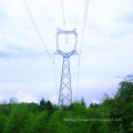220kV Owl Type Single Circuit Power Transmission Steel Tower