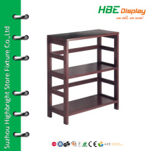 High quality warehouse wooden decorative shelving units