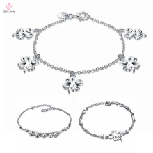 2018 New Style Silver Ankle Design, Top Quality Bracelet Platinum Anklets