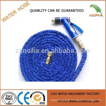 Perfect expandable garden hose , brass fittngs expandable garden hose, magic hose