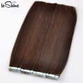 Wholesale Tape In Hair Extensions Natural Looking 100% High Grade Brazilian Human Tape Hair
