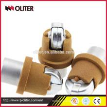 disposable immersion molten steel liquids aluminum foundry instrument sampler tip
