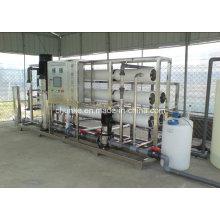 Traitement à l'eau RO à chaud pour une usine de traitement d'eau dédiée