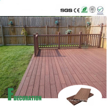 Wood Grain Timber Deck Flooring WPC