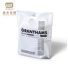 Weste Typ Träger Plastiktüte in Großbritannien zum Einkaufen