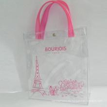 bolsa de cosméticos de pvc para empacar artículos de tocador con logotipo personalizado