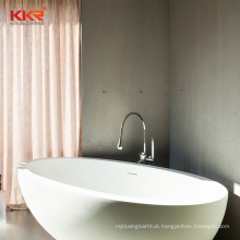 KKR Solid Surface Freestanding Soaking Bathtub for Villa