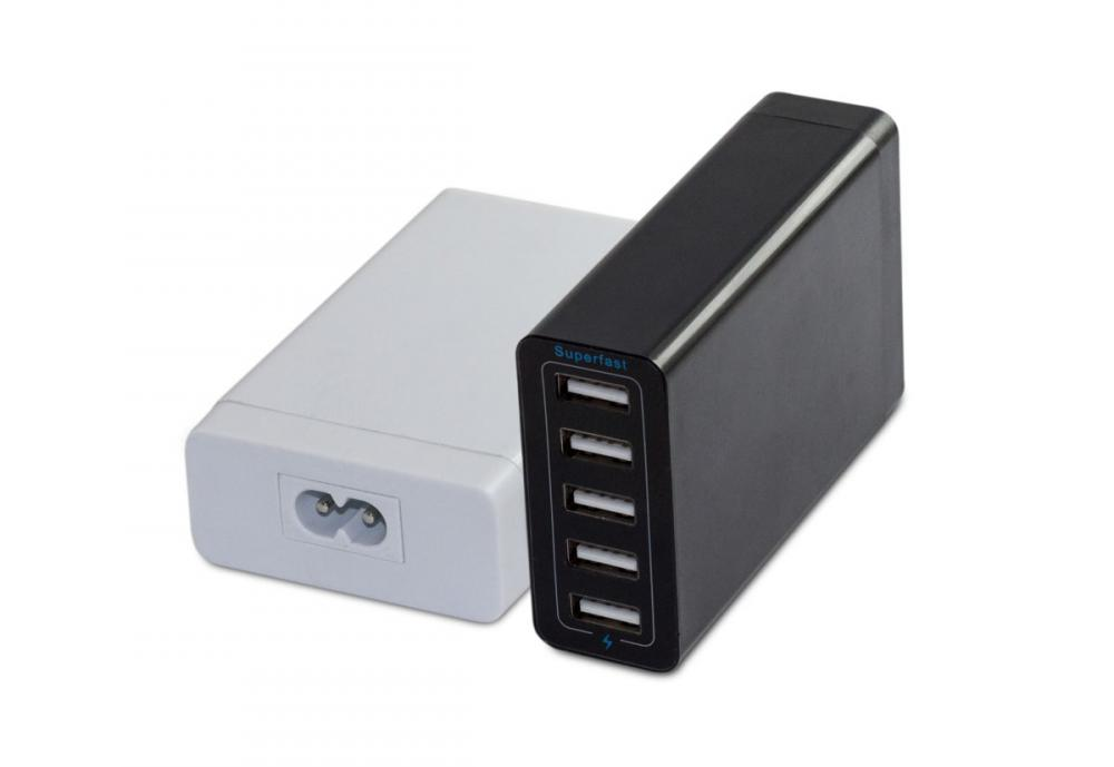 Multi-port USB port.