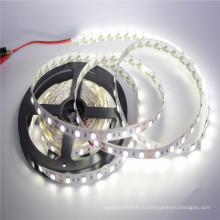 nonwaterproof водонепроницаемый IP65 12V чистый Белый 5м 300led SMD 5050 супер яркий гибкие светодиодные полосы