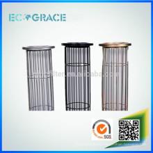 Jaula de filtro de acero galvanizado de tipo oval para filtración de polvo
