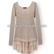 Forma do vestido da camisola coreana 13STC5311