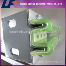 elevator parts/elevator guide rail/elevator guide shoes