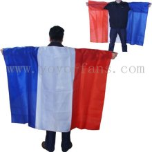 poncho flag with B1 or M1 flame retardent treatment