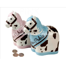 Souvenir Resin Horse Coin Bank, Horse Money Box