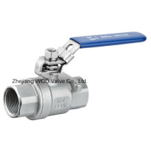 2PC CE Ball Valve Stainless Steel