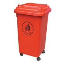 High Quality Plastic Waste Bin for Indoor & Outdoor (FS-80050B)