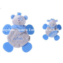 Factory Supply New Design of Baby Stuffed Plush Teether Toy