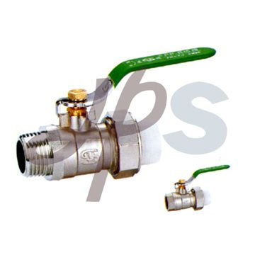 brass PPR ball valve with union