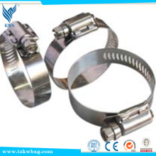 china supplier 321 stainless steel hose clamp