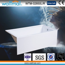 Cupc High Quality Simple Built-in Apron Bathtub (WTM-02850)