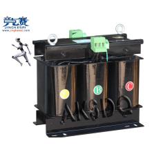 Transformateur triphasé de type servo avec boîte
