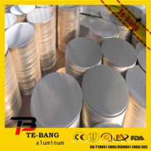 Disques minces en aluminium