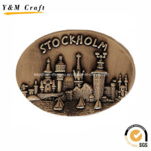 High Quality Zinc Alloy Souvenir Fridge Magnet Ym1062