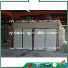 Сушилка для туннелей в Китае, Сушилка для подносов с тележкой, Сушилка для пара