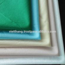 100% coton shirting 110 * 70 / CM40 * CM40 105gsm de haute qualité du Vietnam