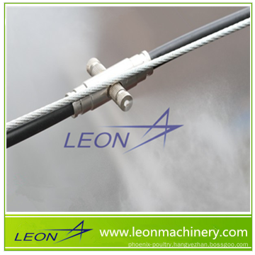 Leon series foggy system for automatic poultry feeding system