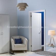 Porta de madeira nivelada para casas do recipiente