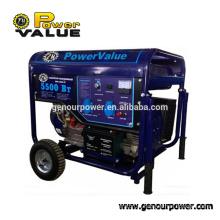 GENERATOR 2014 5 kva ATS generator with automatic generatot starter battery charging generator(ZH6500Bt)