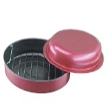 Round Roast Pan with rack