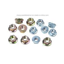 Aço de carbono Tfi145 Hex Flange Nut (CZ003)