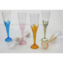 OEM Plastic Disposable Party Cocktail Champagne Goblet Cup