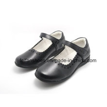 Chaussures en cuir classique de haute qualité chaussures étudiants chaussures habillées (ff624-1)