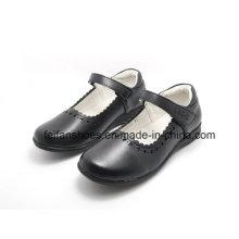 Высокое качество классические кожаные туфли студент туфли обувь (FF624-1)