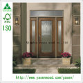 China Painting Solid Wood Fiber Glass Entry Door