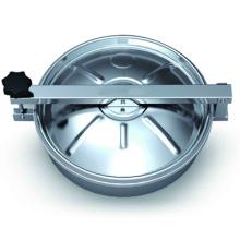 Cubierta de boca redonda de acero inoxidable (IFEC-MH10004)